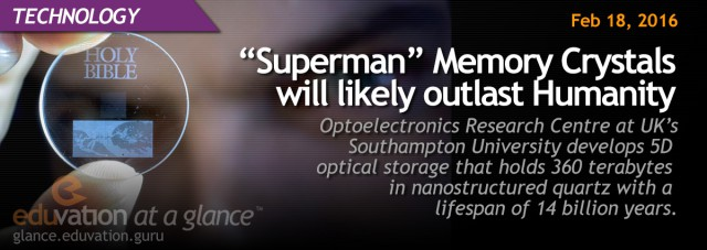 """Superman"" Memory Crystals will likely outlast Humanity"