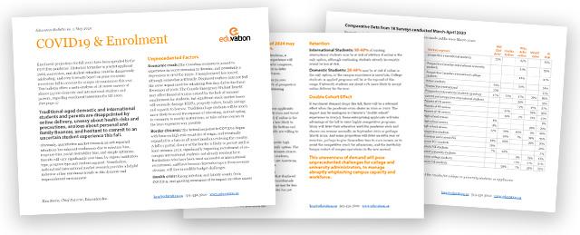 Read our COVID & Enrolment white paper (PDF)