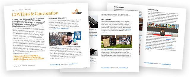 Read our COVID & Convocations white paper (PDF)
