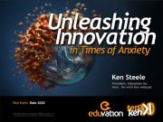 Unleashing Innovation in Times of Anxiety