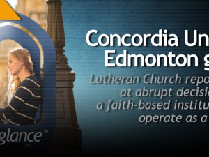 Concordia University of Edmonton Goes Public