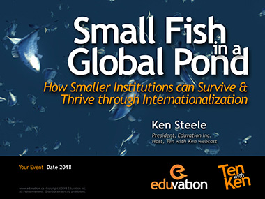 Small Fish in a Global Pond