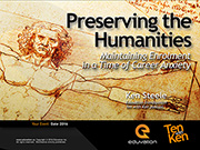 Preserving the Humanities: Maintaining Enrolment in a Time of Career Anxiety