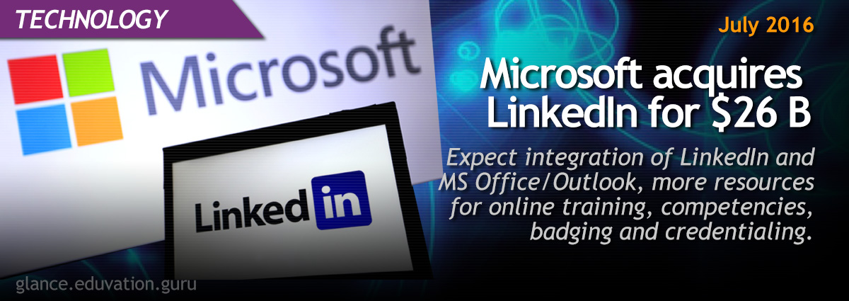 Microsoft acquires LinkedIn for $26 B
