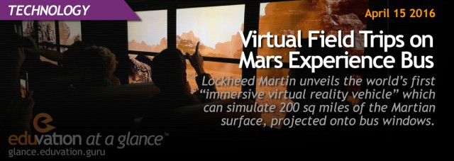 Virtual Field Trips on Mars Experience Bus