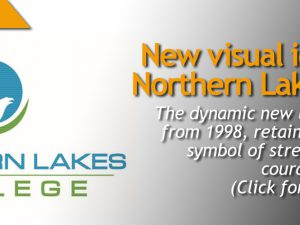 New visual identity for Northern Lakes College