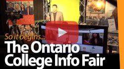 The 2013 Ontario College Information Fair
