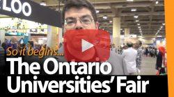 The 2013 Ontario Universities' Fair