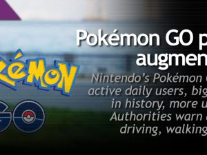 Pokémon GO popularizes augmented reality