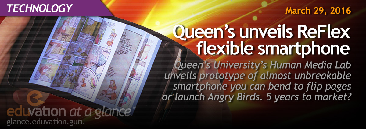 Queen's unveils ReFlex flexible smartphone