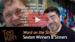Sexism Winners & Sinners (6 min)