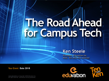 The Road Ahead for Campus Tech