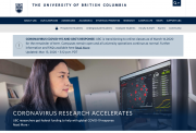 UBC home page - March 14