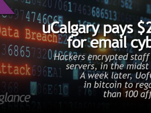 uCalgary pays $20K bitcoin for email cyber ransom
