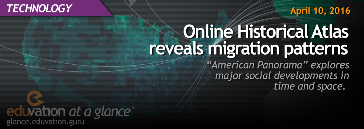 Online Historical Atlas reveals migration patterns