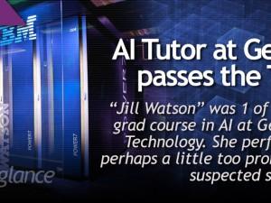 AI Tutor at Georgia Tech passes the Turing test