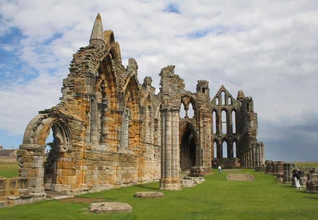 Whitby Abbey ruins — Stock Photo © John Braid