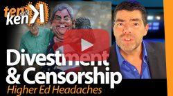 Divestment & Censorship