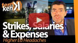 Strikes, Salaries & Expenses