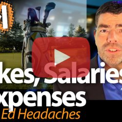 Strikes, Salaries & Expenses