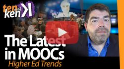 The Latest in MOOCs