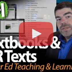 eTextbooks and OER Texts