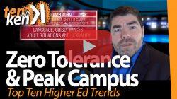 Zero Tolerance & Peak Campus