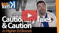 Cautionary Tales & Cautious Rebrands