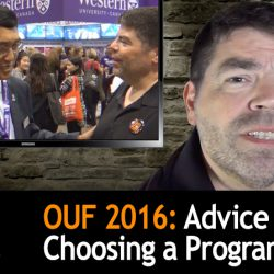 OUF 2016: Advice on Choosing a Program