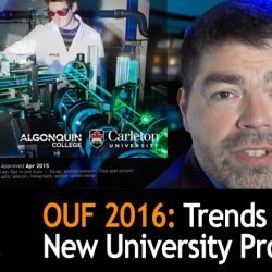 Trends in New University Programs