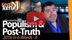 Populism & Post-Truth