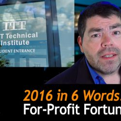 2016 in 6 Words: For-Profit Fortunes