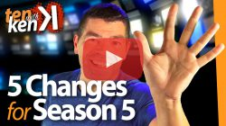 5 Changes for Season 5