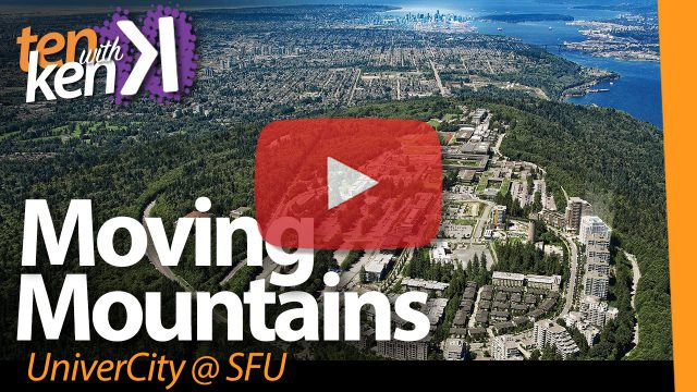Moving Mountains: UniverCity @SFU