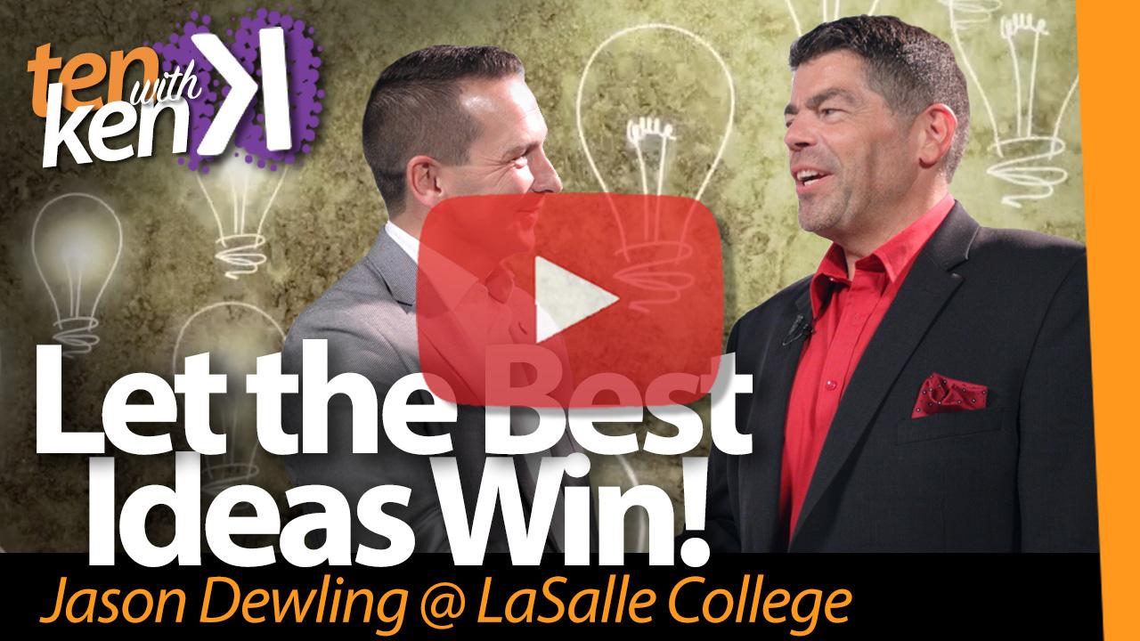 Let the Best Ideas Win!