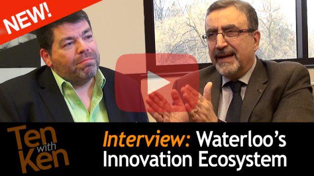 Waterloo's Innovation Ecosystem