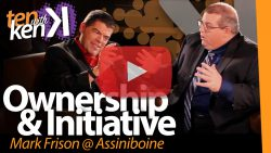 Ownership & Initiative: Mark Frison @ Assiniboine Community College