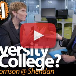 University vs College? Janet Morrison@ Sheridan