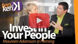 Invest in Your People: Maureen Adamson @ Fleming