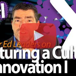 Nurturing a Culture of Innovation I