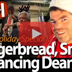 Gingerbread, Snow & Dancing Deans