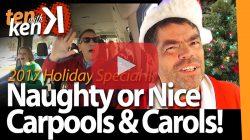 Naughty or Nice Carpools & Carols