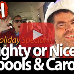 Naughty or Nice Carpools & Carols