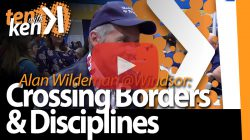 Alan Wildeman, University of Windsor, on Crossing Borders and Disciplines