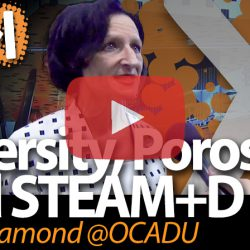 Sara Diamond, OCAD University, on Diversity, Porosity and STEAM+D