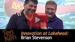 Innovation at Lakehead: 3 Qs with Brian Stevenson