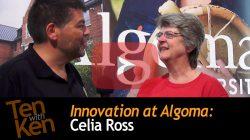 Innovation at Algoma: 3 Qs with Celia Ross