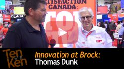 Innovation at Brock: 3 Qs with Thomas Dunk