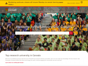 uCalgary home page - March 14