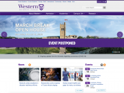Western home page - March 14